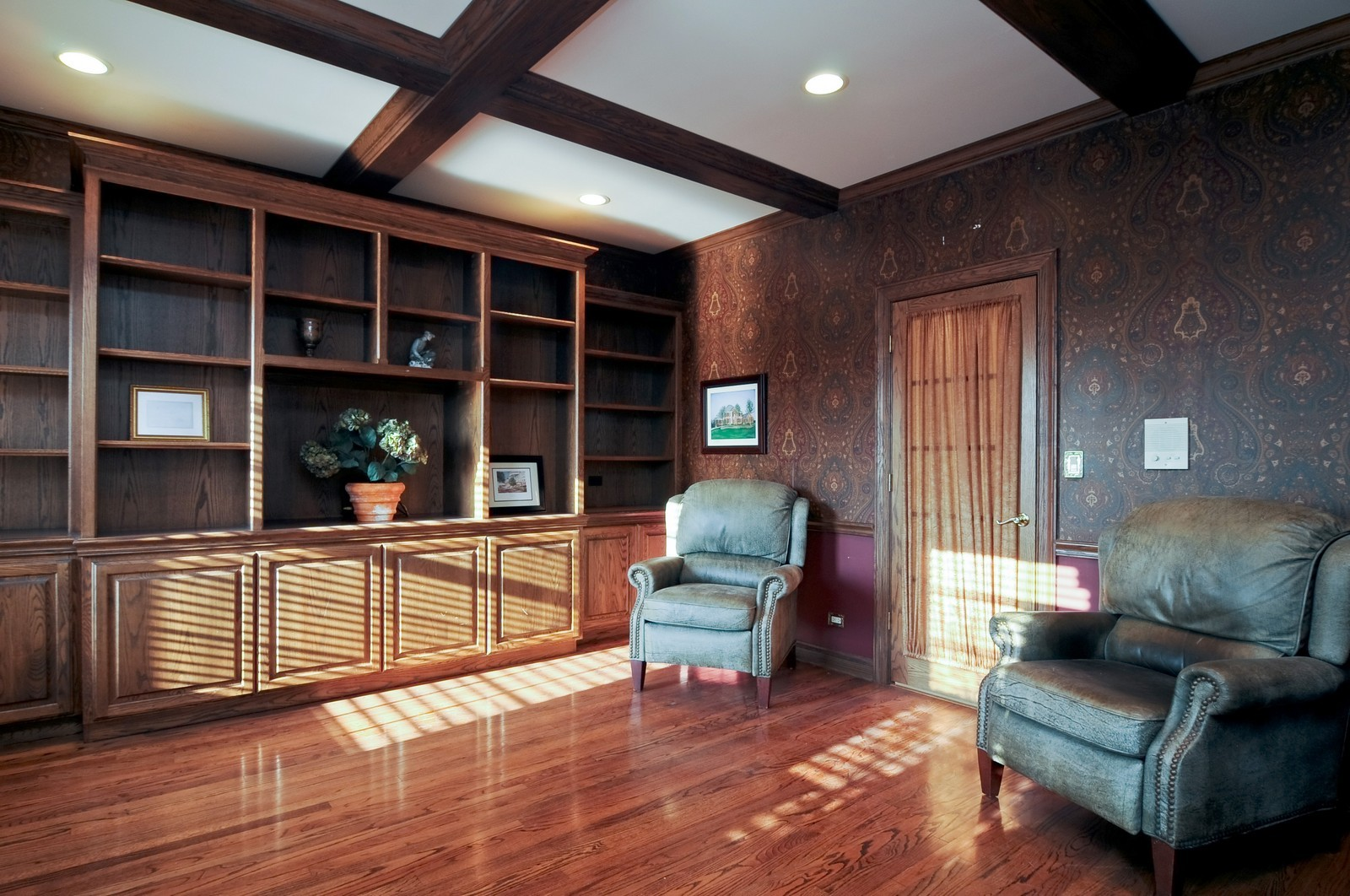 Real Estate Photography - 2091 Trenton, Libertyville, IL, 60048 - Library