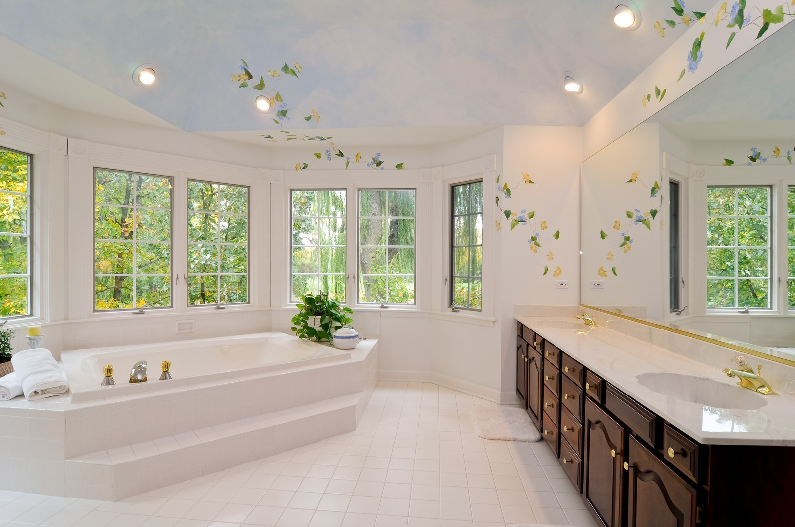 Real Estate Photography - 4736 Wellington, Long Grove, IL, 60047 - Master Bathroom