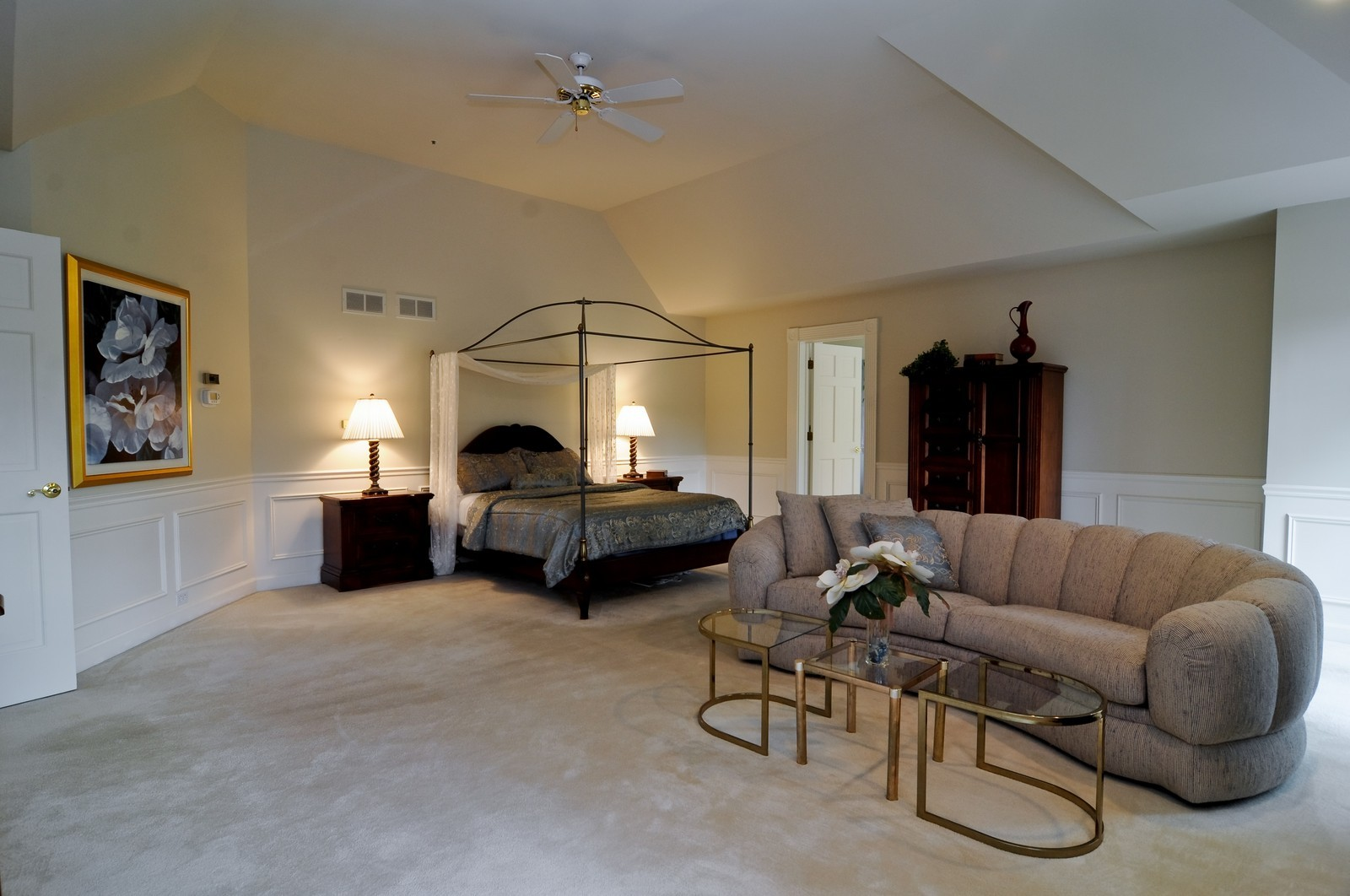 Real Estate Photography - 4736 Wellington, Long Grove, IL, 60047 - Master Bedroom