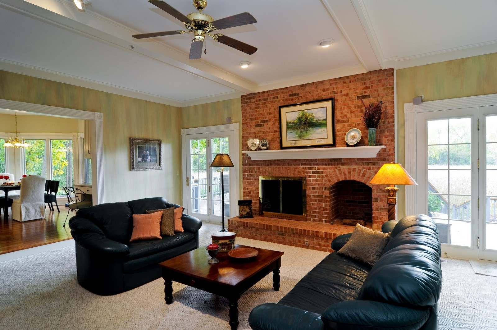 Real Estate Photography - 4736 Wellington, Long Grove, IL, 60047 - Family Room