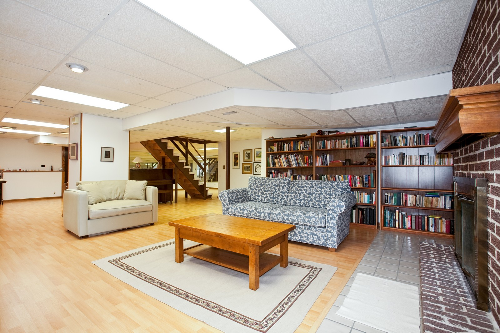 Real Estate Photography - 1831 Elmore, Downers Grove, IL, 60515 - Recreational Room