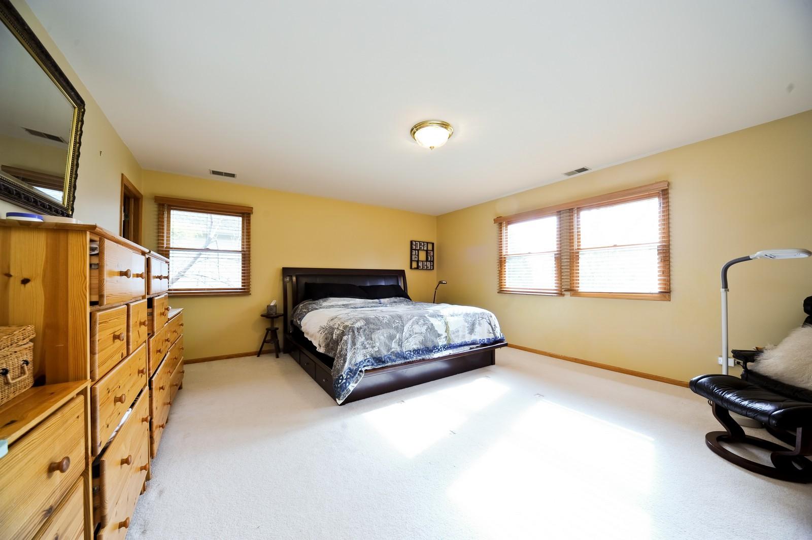 Real Estate Photography - 394 Jefferson, Glencoe, IL, 60022 - Master Bedroom