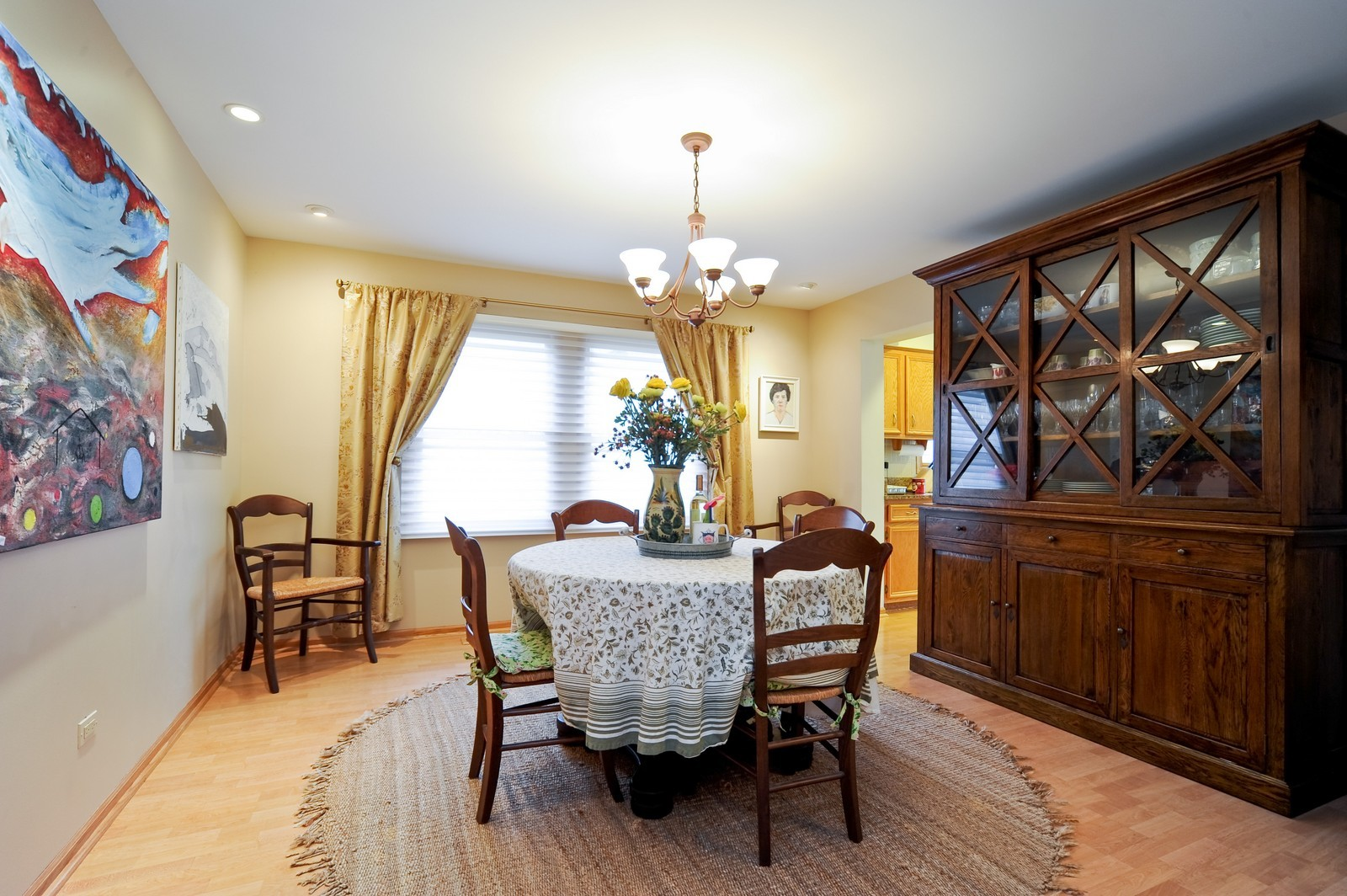 Real Estate Photography - 394 Jefferson, Glencoe, IL, 60022 - Dining Room