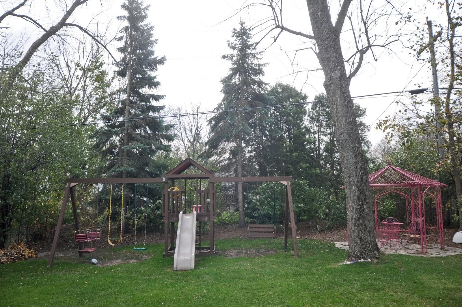 Real Estate Photography - 394 Jefferson, Glencoe, IL, 60022 - Back Yard