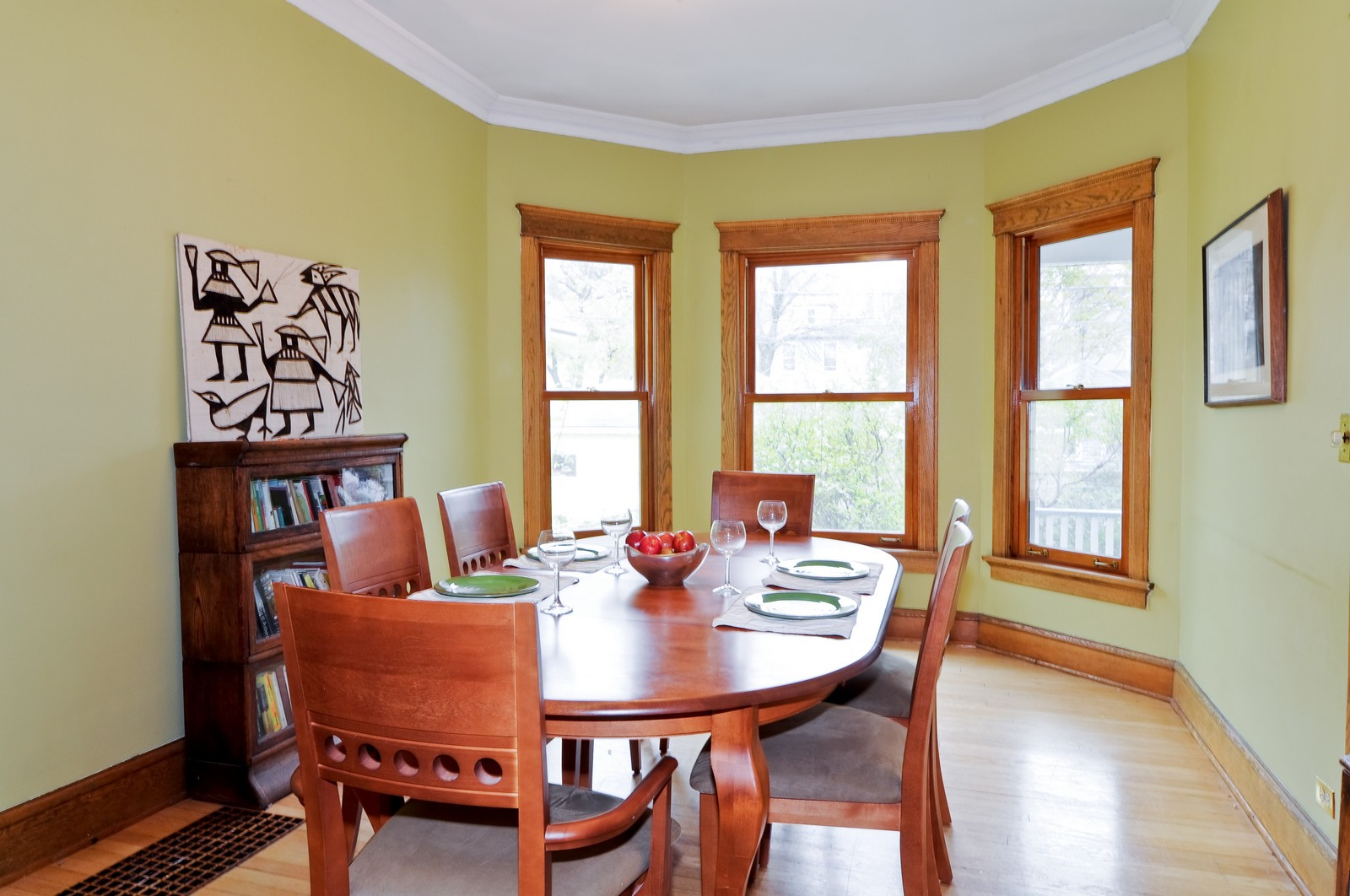 Real Estate Photography - 1531 W Hood, Chicago, IL, 60660 - Dining Room