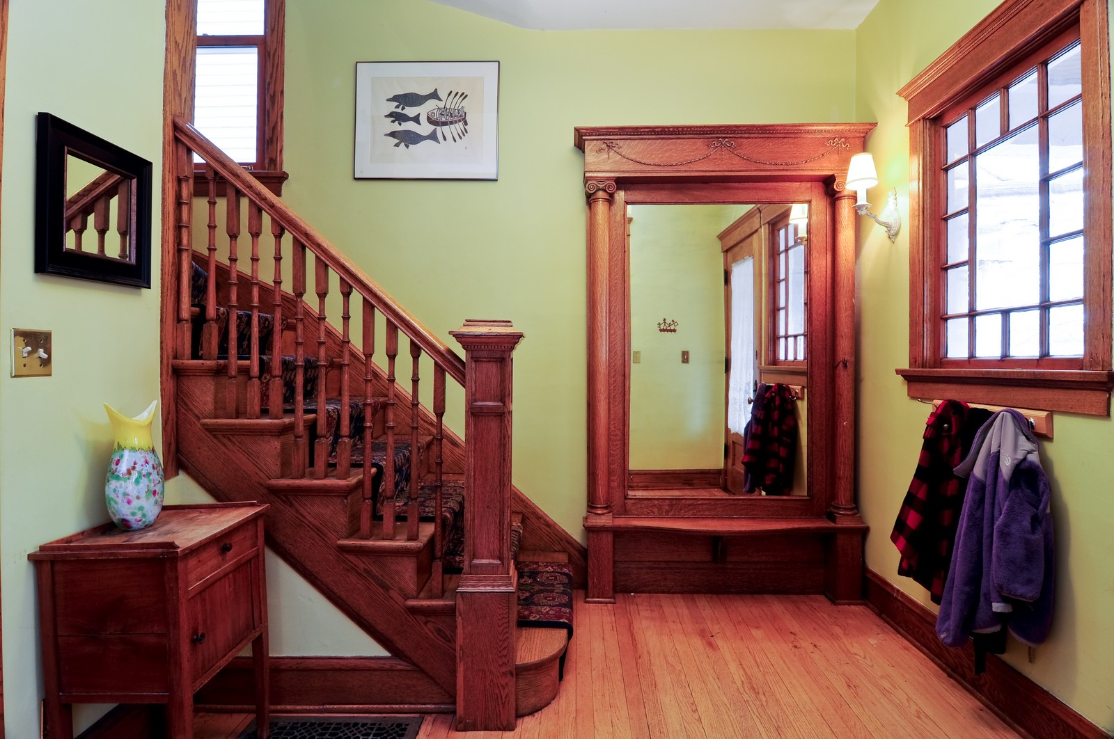 Real Estate Photography - 1531 W Hood, Chicago, IL, 60660 - Foyer