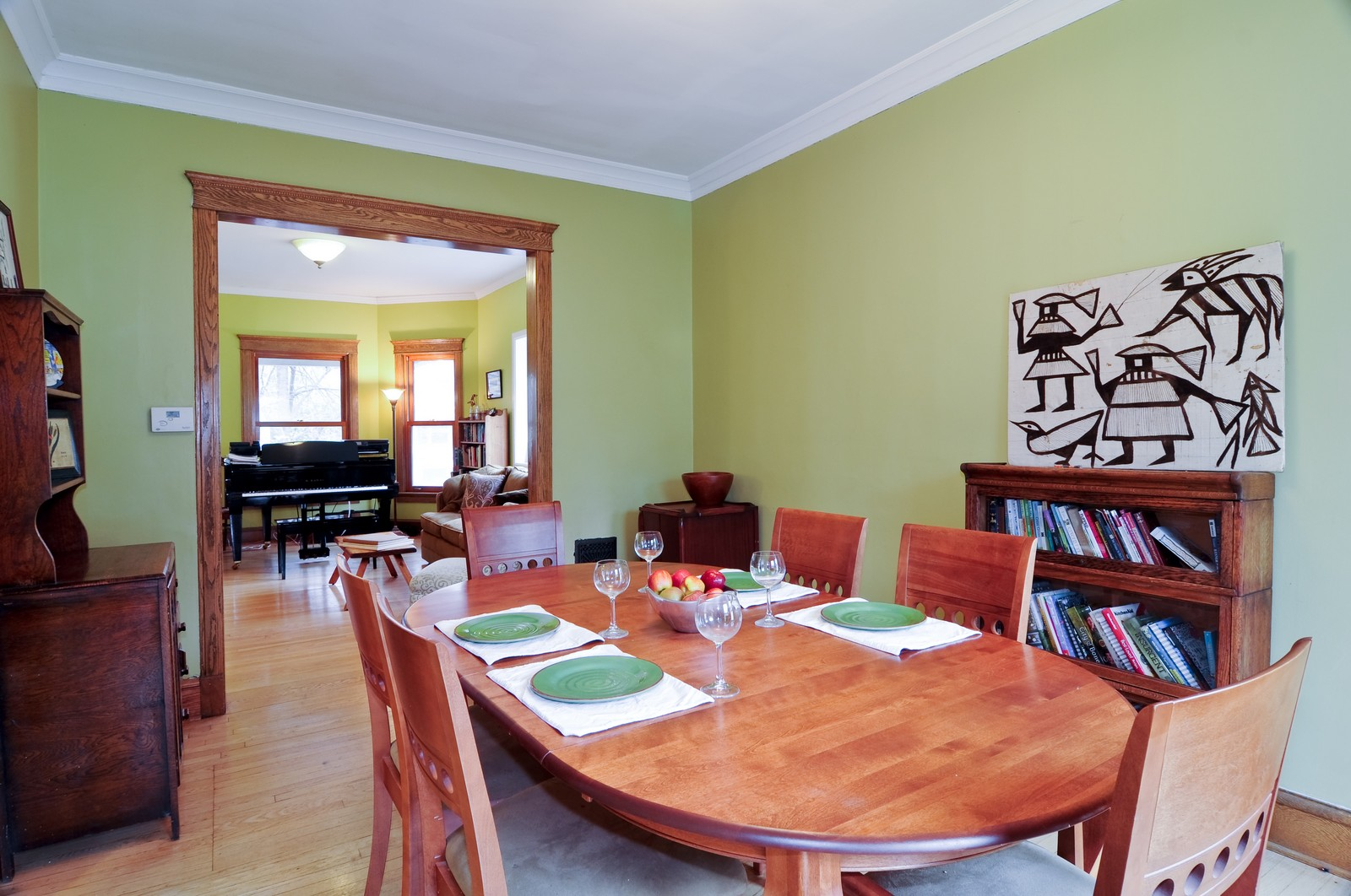 Real Estate Photography - 1531 W Hood, Chicago, IL, 60660 - Living Room / Dining Room