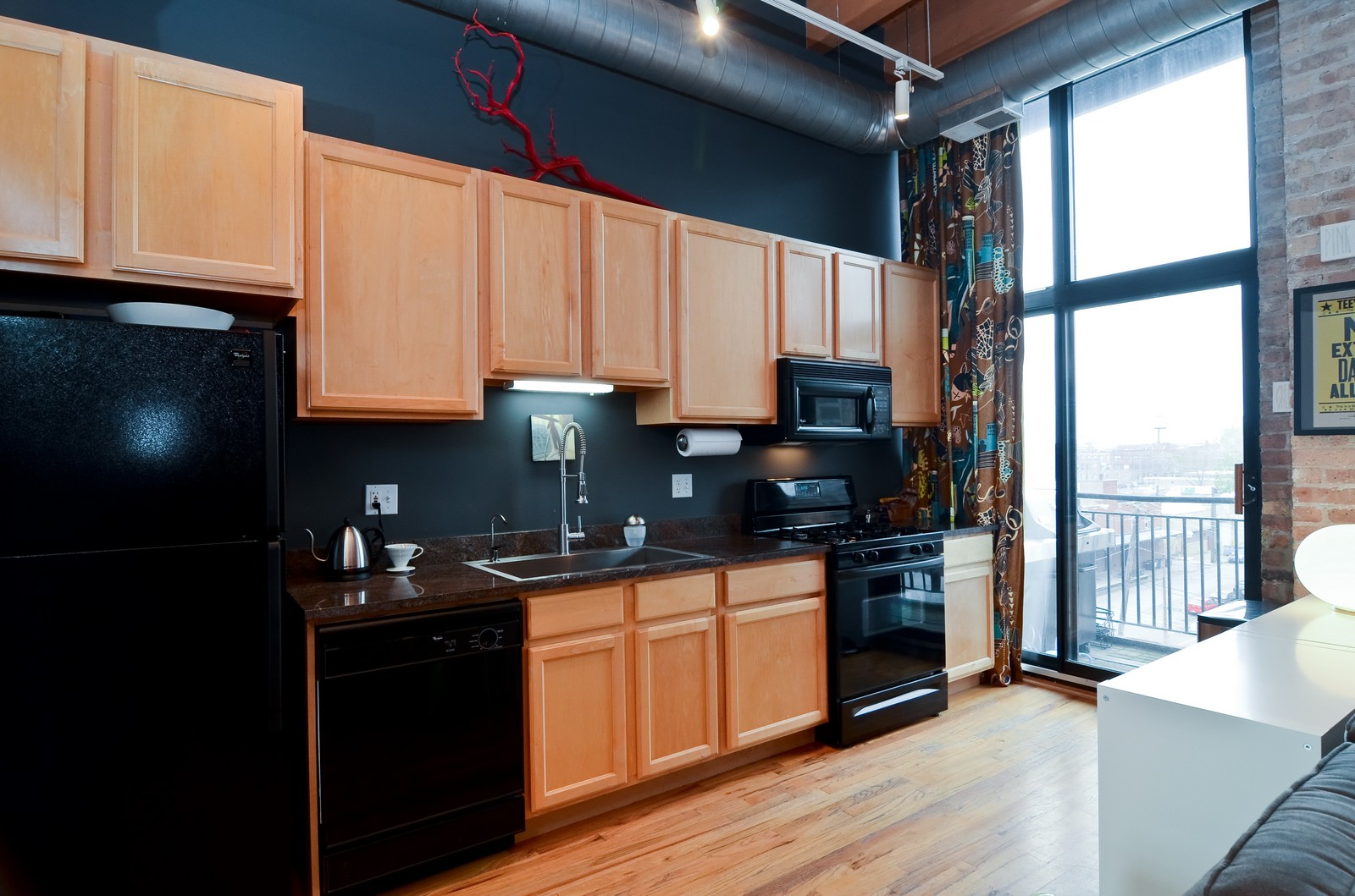 Real Estate Photography - 215 N Aberdeen, 508B, Chicago, IL, 60607 - Kitchen