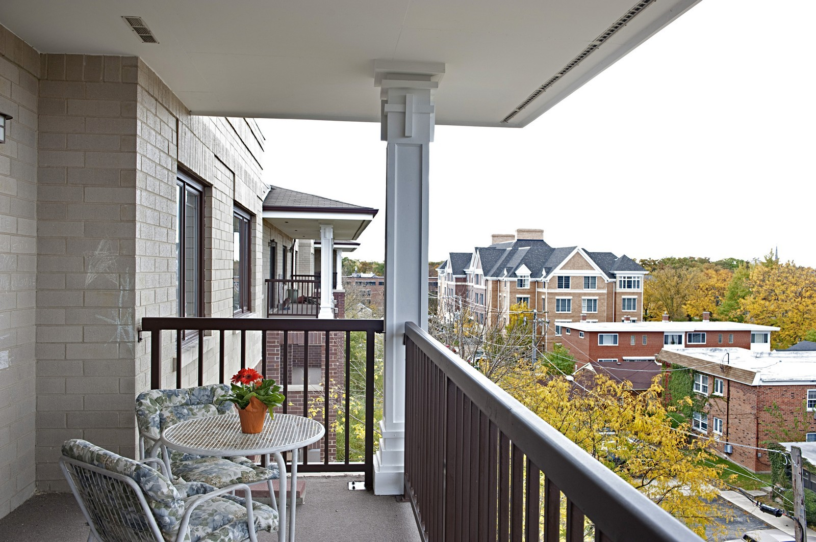 Real Estate Photography - 1700 2nd St, Highland Park, IL, 60035 - Balcony