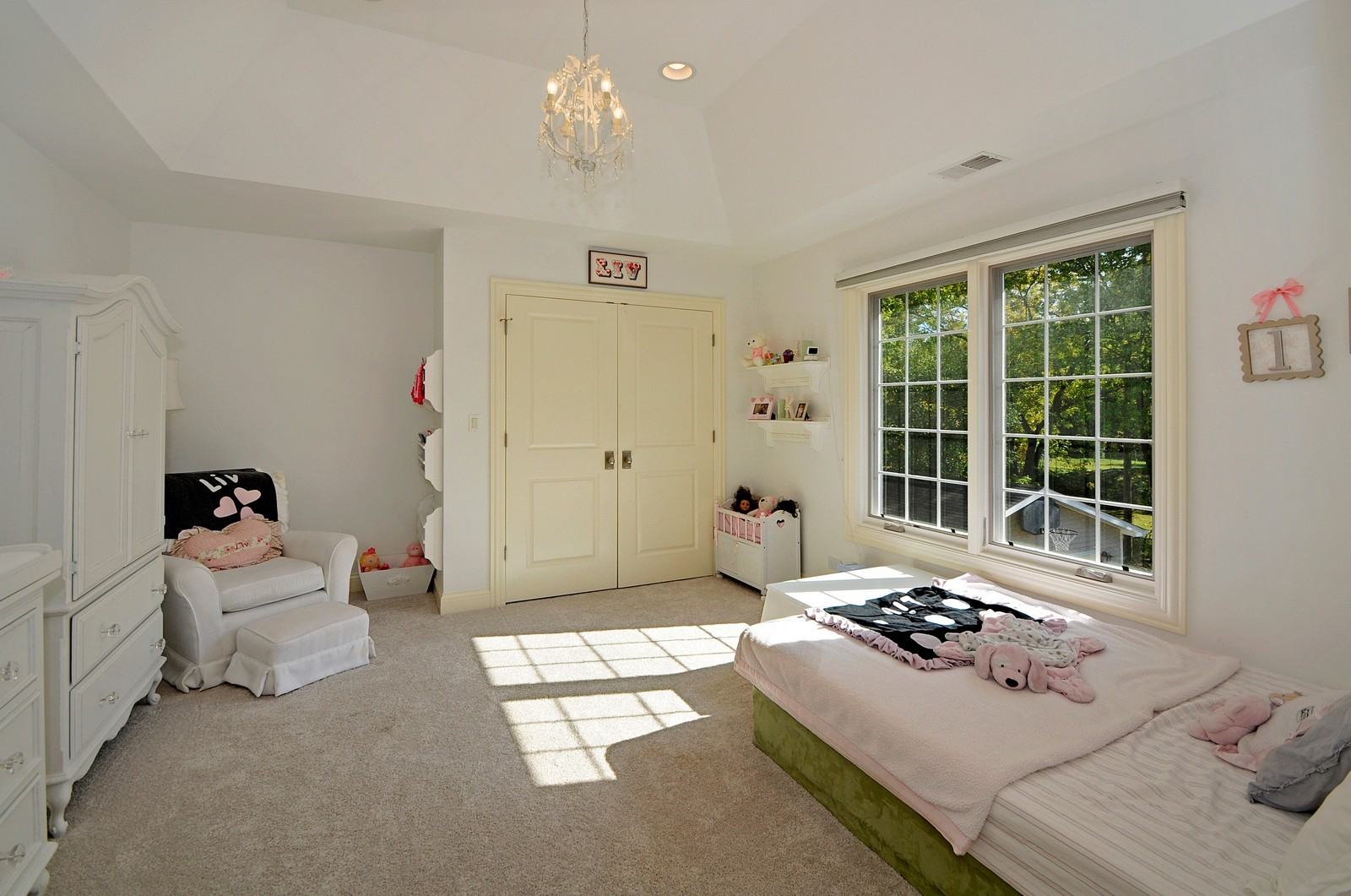 Real Estate Photography - 1789 Elmwood, Highland Park, IL, 60035 - 2nd Bedroom