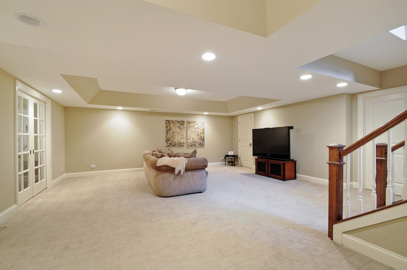 Real Estate Photography - 1789 Elmwood, Highland Park, IL, 60035 - Lower Level