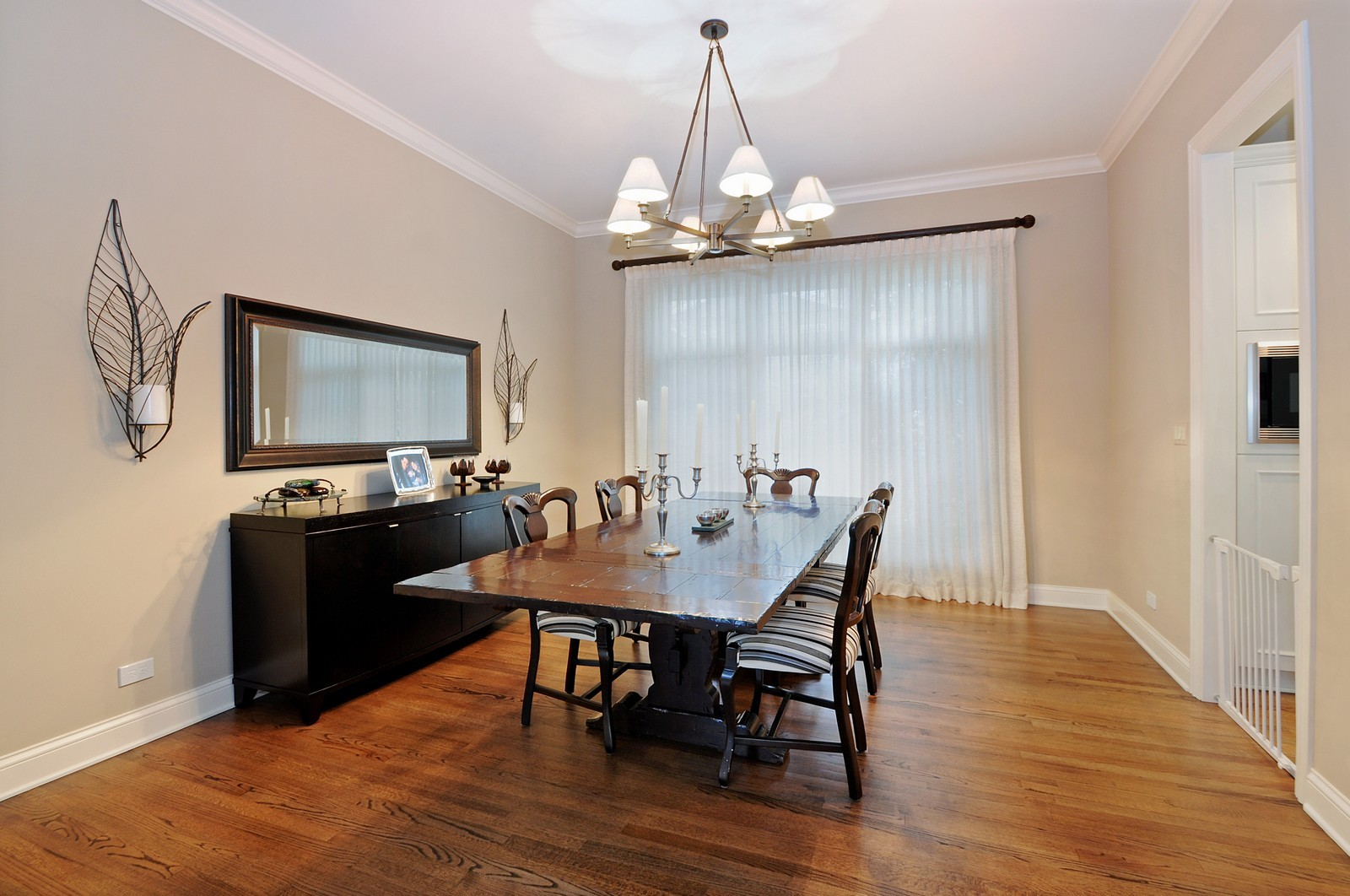 Real Estate Photography - 1789 Elmwood, Highland Park, IL, 60035 - Dining Room