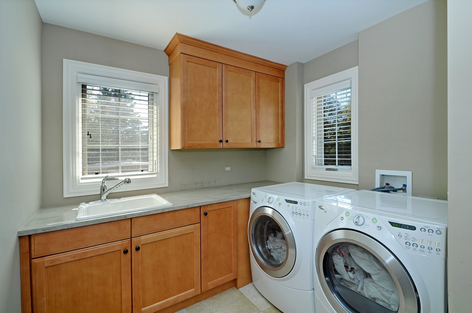 Real Estate Photography - 1789 Elmwood, Highland Park, IL, 60035 - Laundry Room