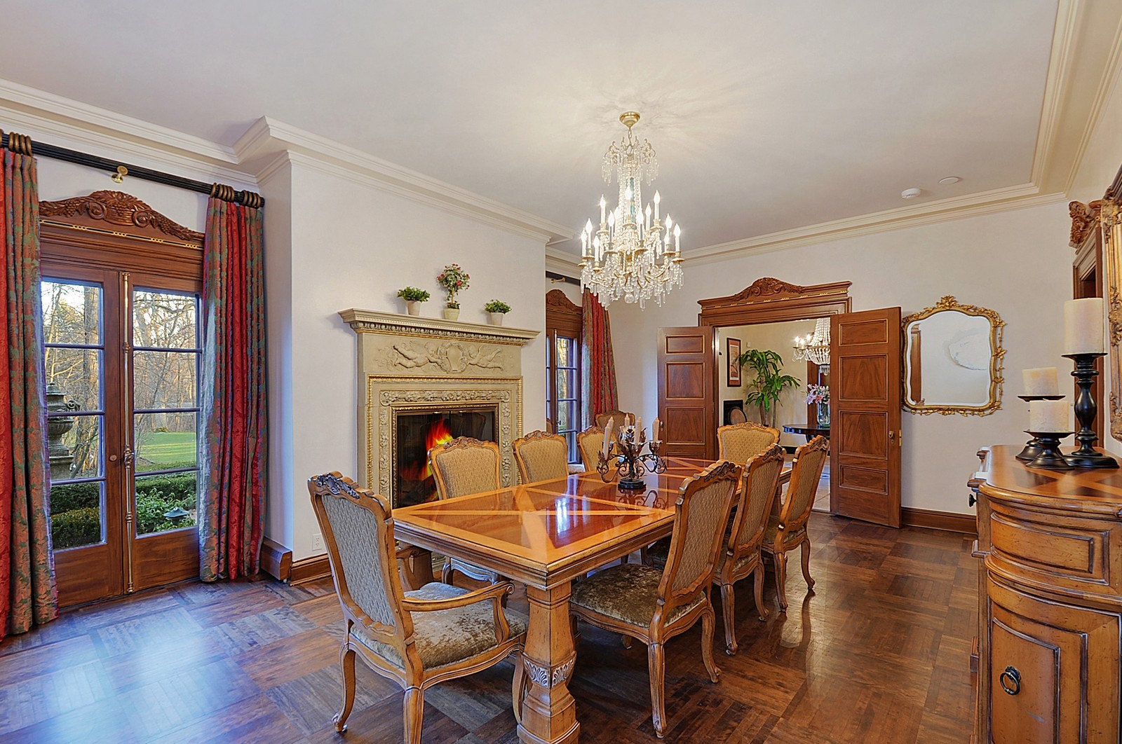 Real Estate Photography - 1000 Illinois, Lake Forest, IL, 60045 - Dining Room