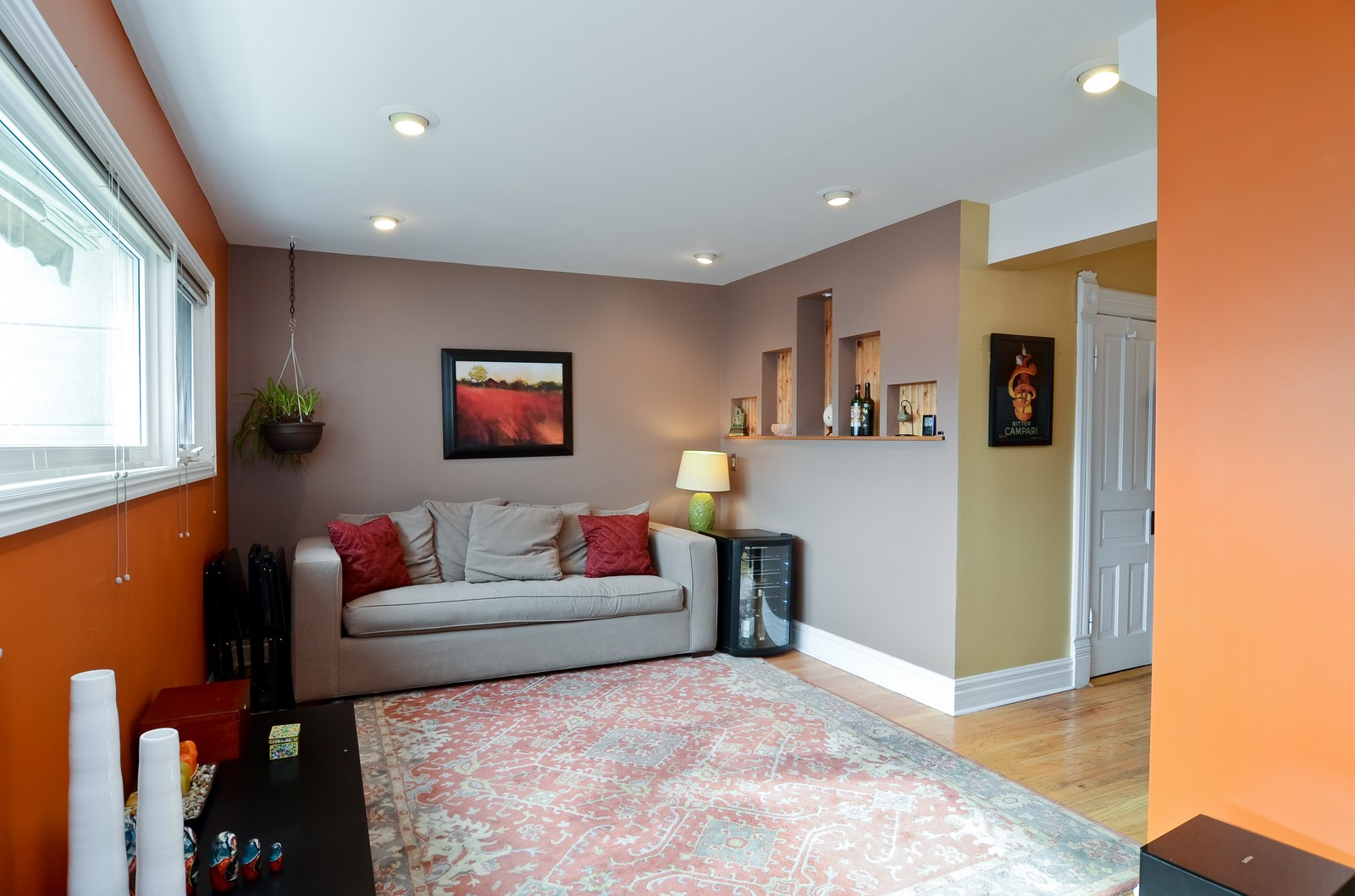 Real Estate Photography - 3525 W Wollfram, Chicago, IL, 60618 - Living Room