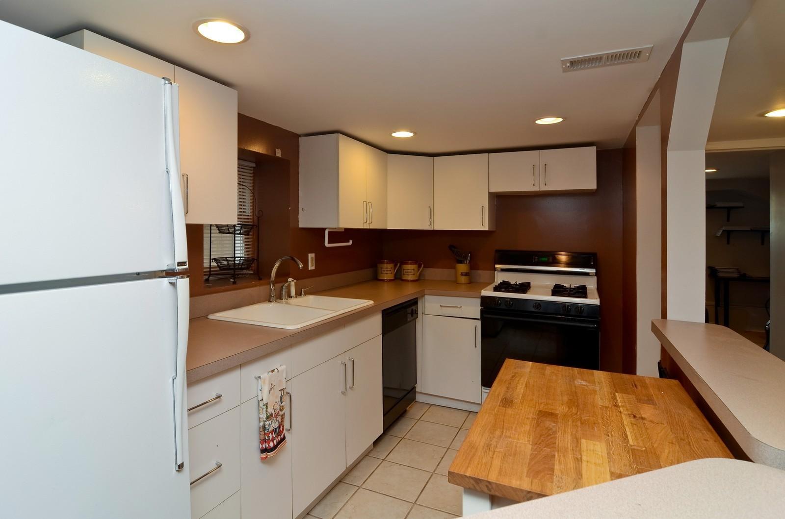 Real Estate Photography - 3525 W Wollfram, Chicago, IL, 60618 - Kitchen