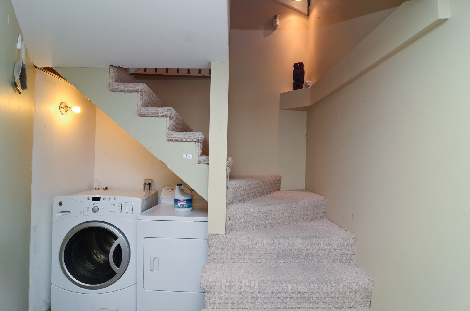 Real Estate Photography - 3525 W Wollfram, Chicago, IL, 60618 - Laundry Room