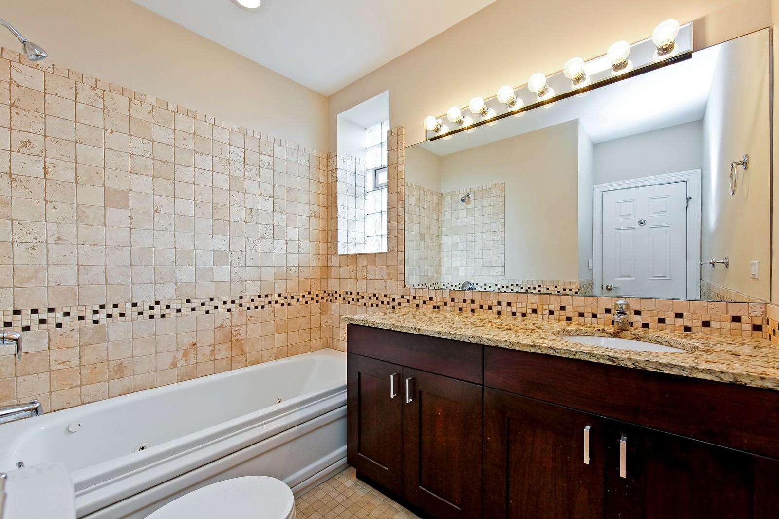 Real Estate Photography - 942 N Fairfield, Unit 1W, Chicago, IL, 60622 - Bathroom