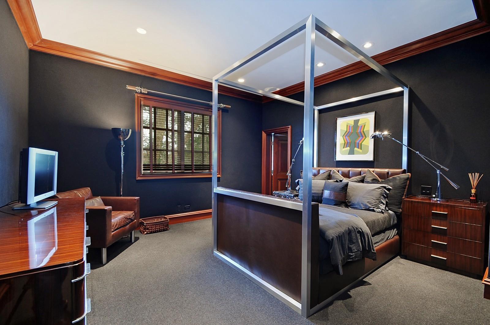 Real Estate Photography - 973 Sheridan Rd, Winnetka, IL, 60093 - 2nd Bedroom