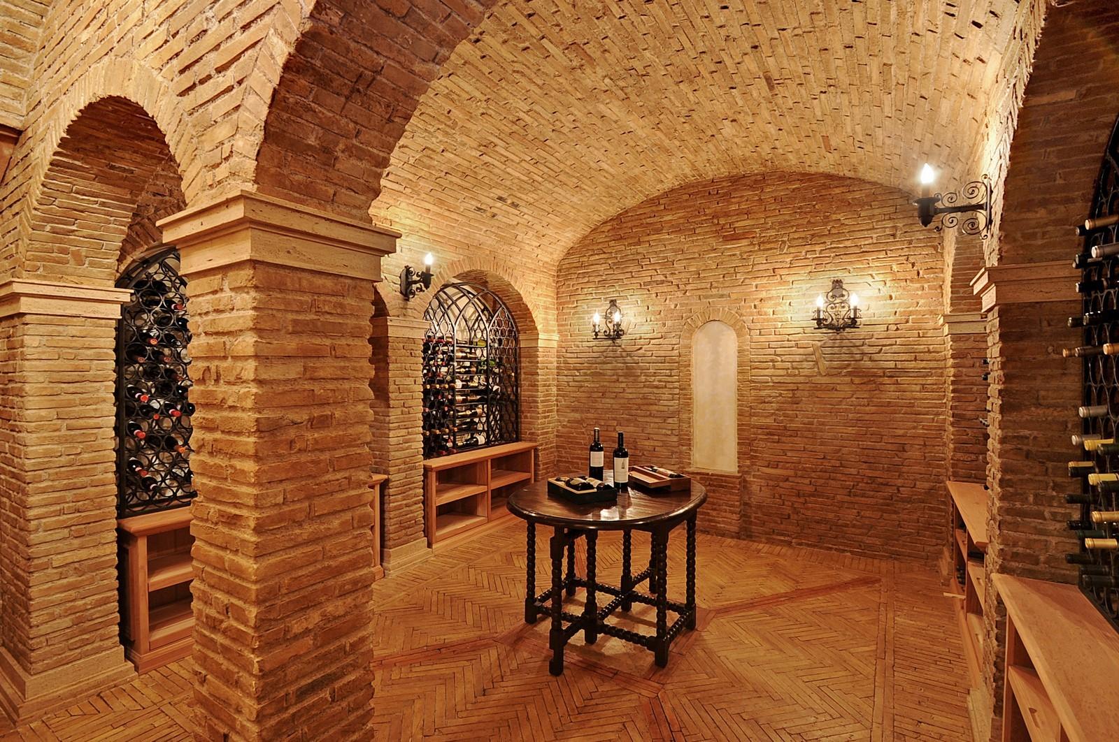 Real Estate Photography - 973 Sheridan Rd, Winnetka, IL, 60093 - Wine Cellar