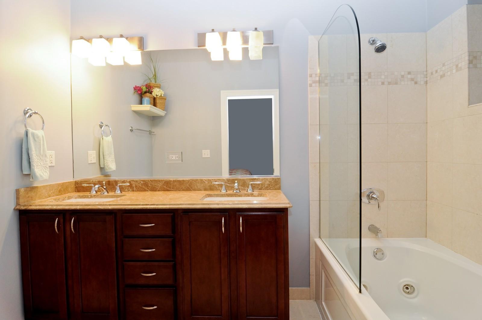 Real Estate Photography - 1846 W Armitage, Unit 2E, Chicago, IL, 60622 - Master Bathroom