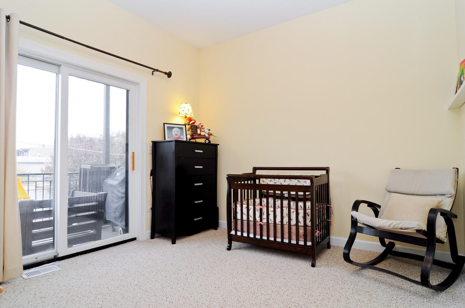 Real Estate Photography - 1846 W Armitage, Unit 2E, Chicago, IL, 60622 - Bedroom
