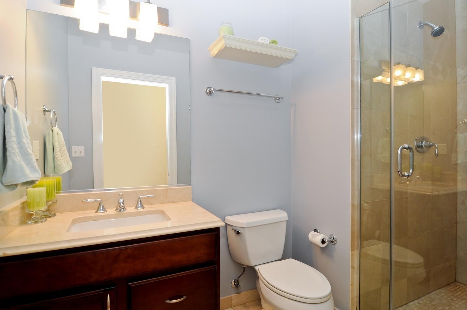 Real Estate Photography - 1846 W Armitage, Unit 2E, Chicago, IL, 60622 - Bathroom