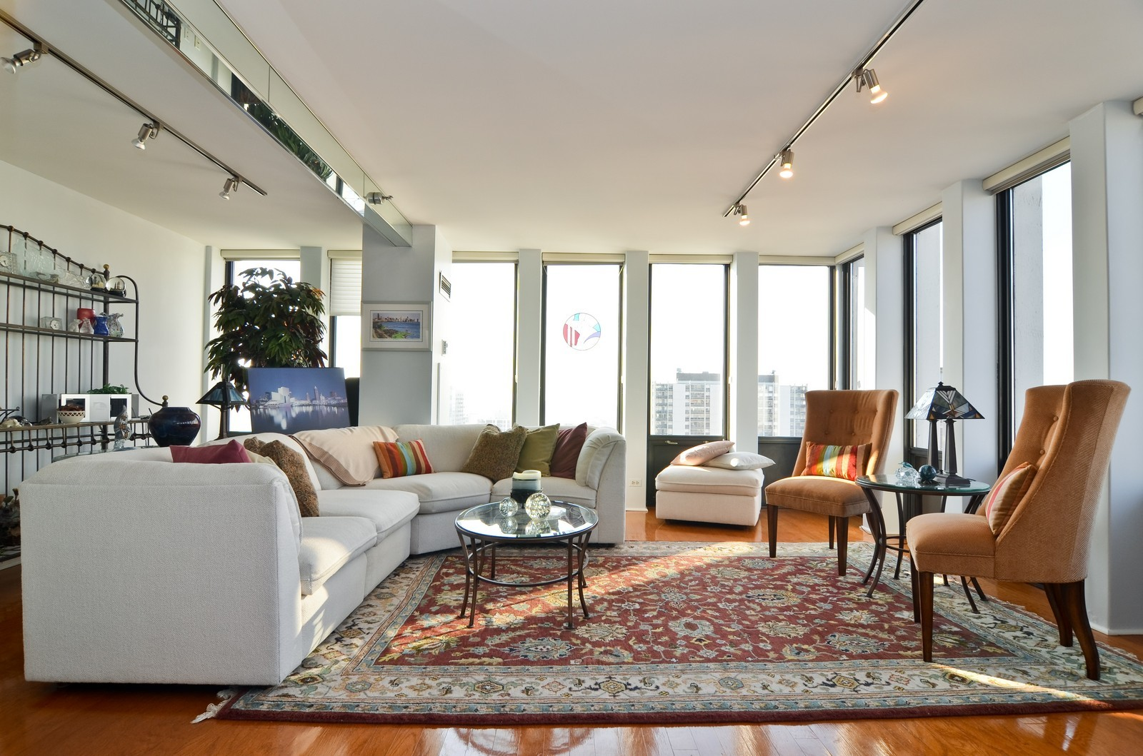 Real Estate Photography - 1230 N. State Parkway, Unit 26BC, Chicago, IL, 60610 - Formal Living Room
