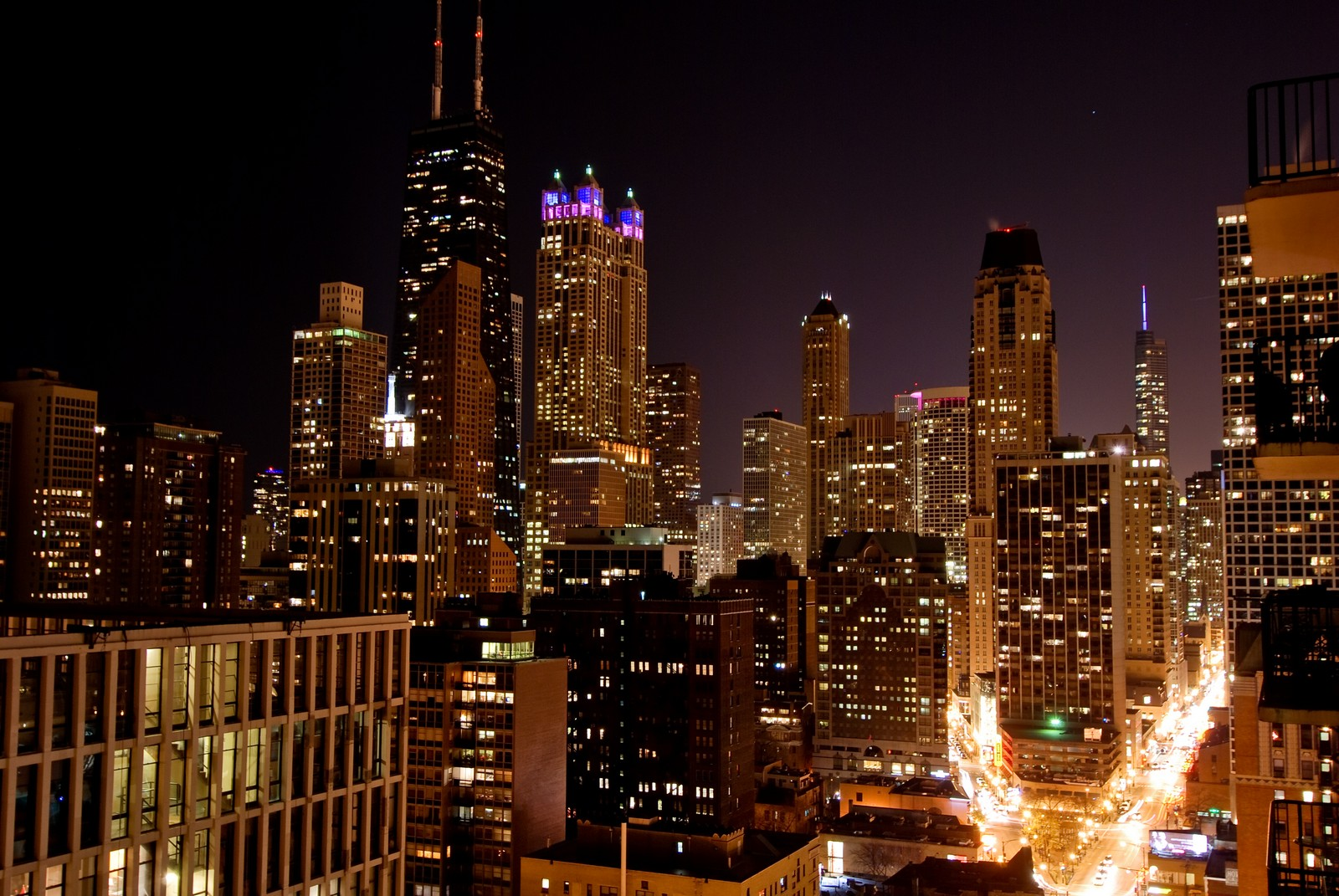 Real Estate Photography - 1230 N. State Parkway, Unit 26BC, Chicago, IL, 60610 - South Views of City