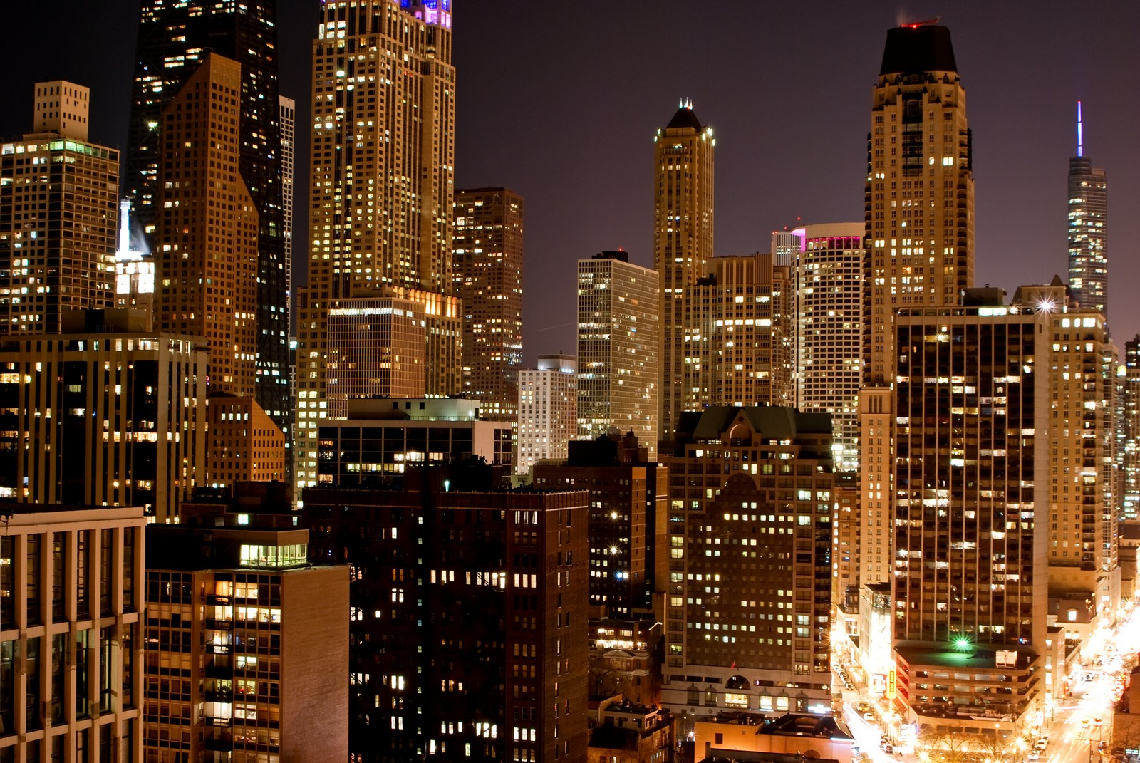 Real Estate Photography - 1230 N. State Parkway, Unit 26BC, Chicago, IL, 60610 - South City Night Views