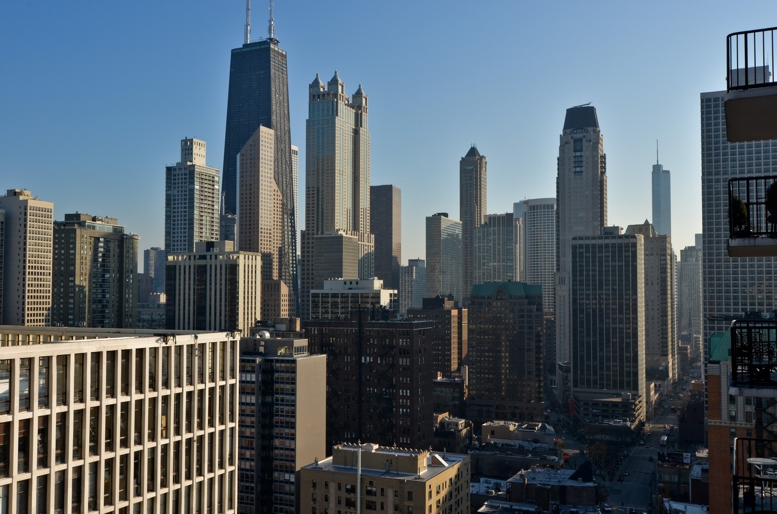 Real Estate Photography - 1230 N. State Parkway, Unit 26BC, Chicago, IL, 60610 - City View