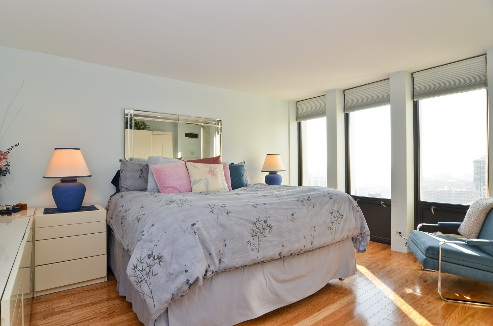 Real Estate Photography - 1230 N. State Parkway, Unit 26BC, Chicago, IL, 60610 - Master Bedroom