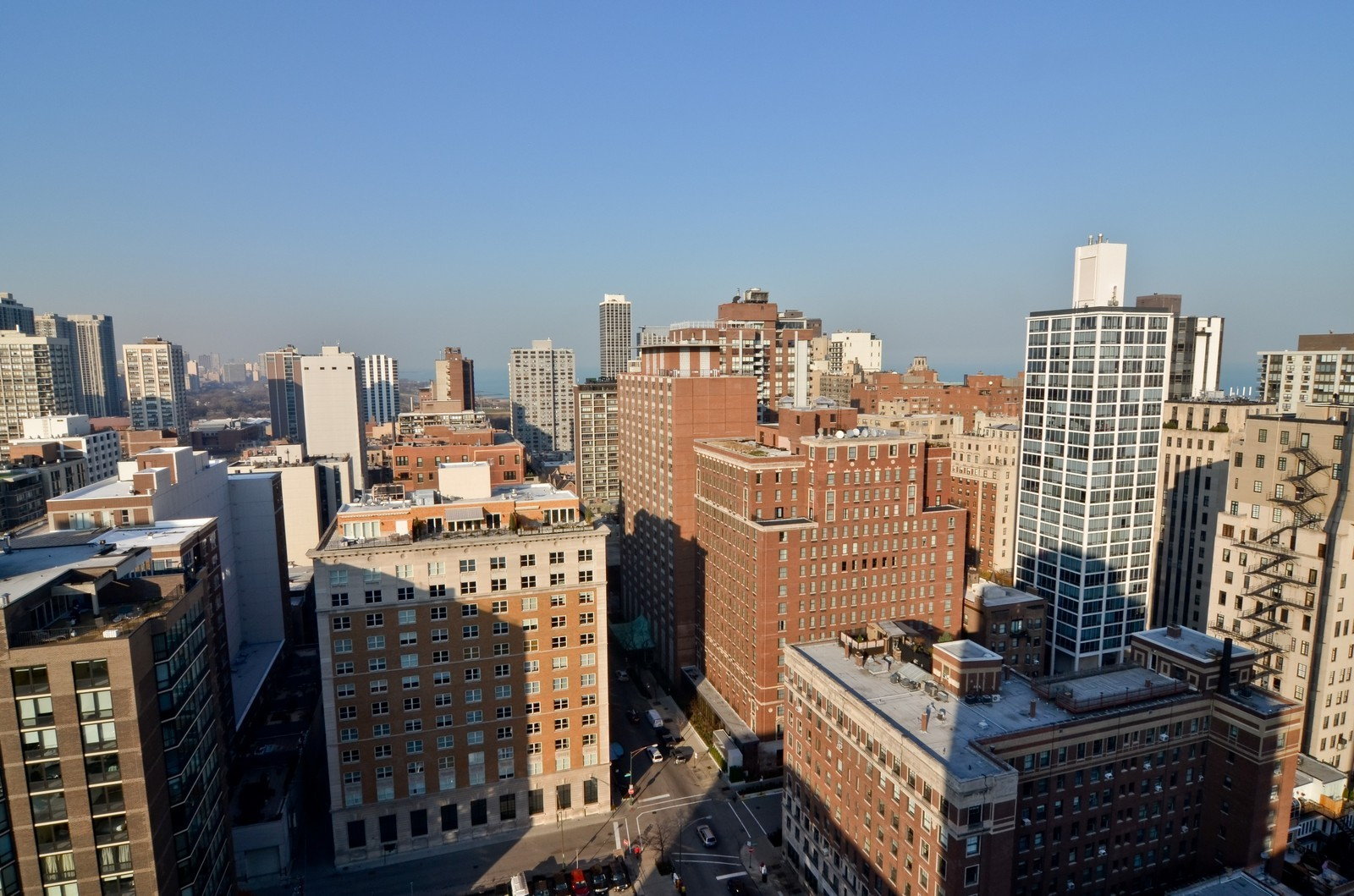 Real Estate Photography - 1230 N. State Parkway, Unit 26BC, Chicago, IL, 60610 - North Balcony View