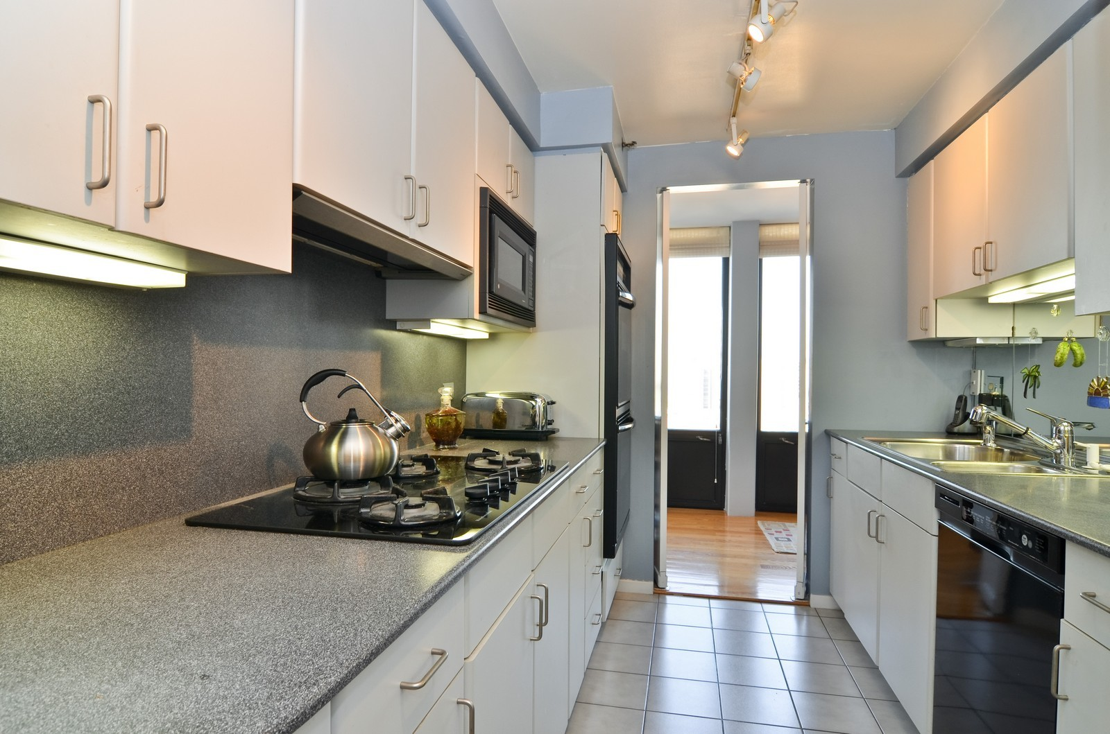 Real Estate Photography - 1230 N. State Parkway, Unit 26BC, Chicago, IL, 60610 - Butler's Pantry with Full Catering Kitchen