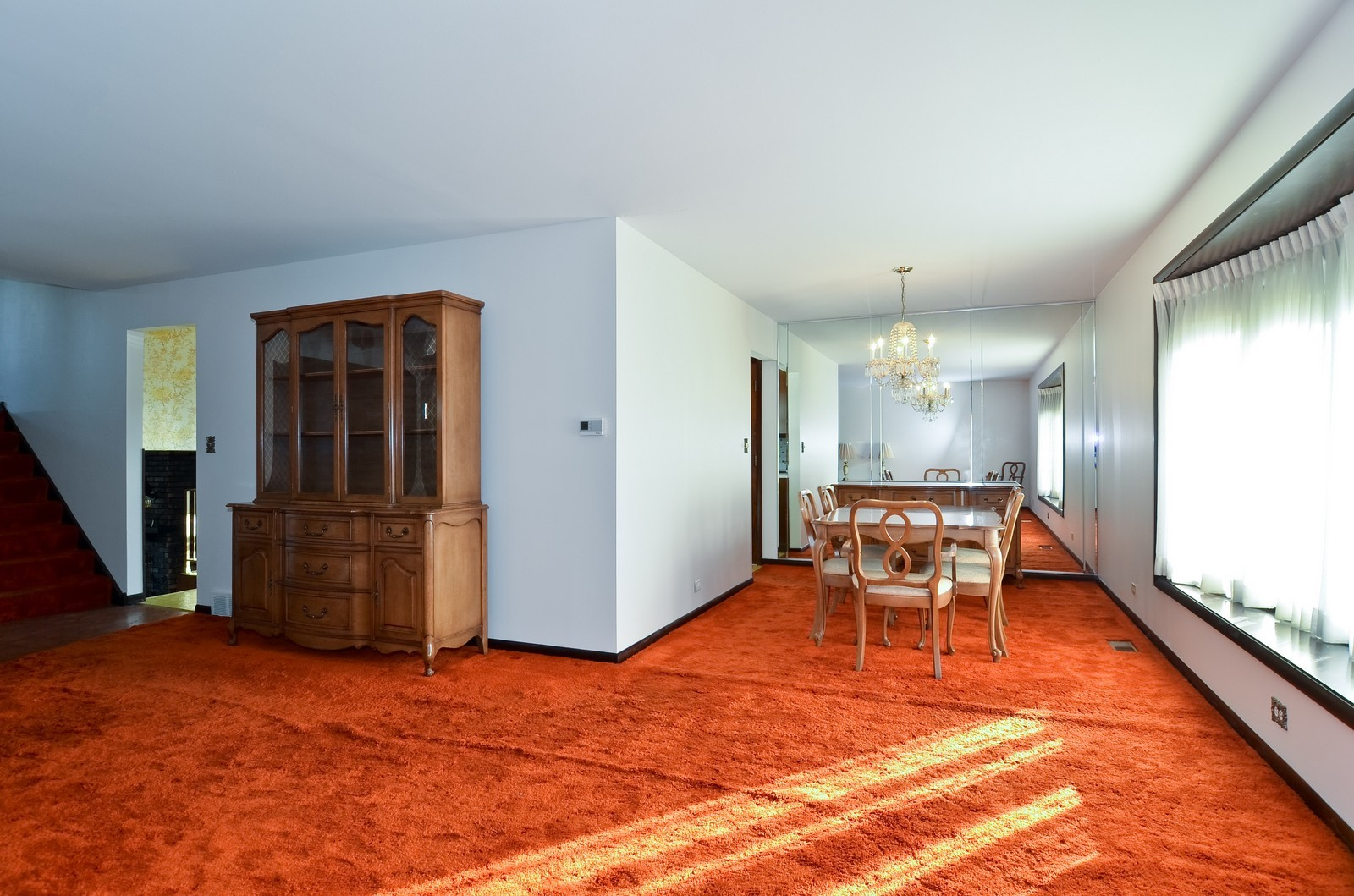 Real Estate Photography - 6959 N Dowagiac, Chicago, IL, 60646 - Dining Room