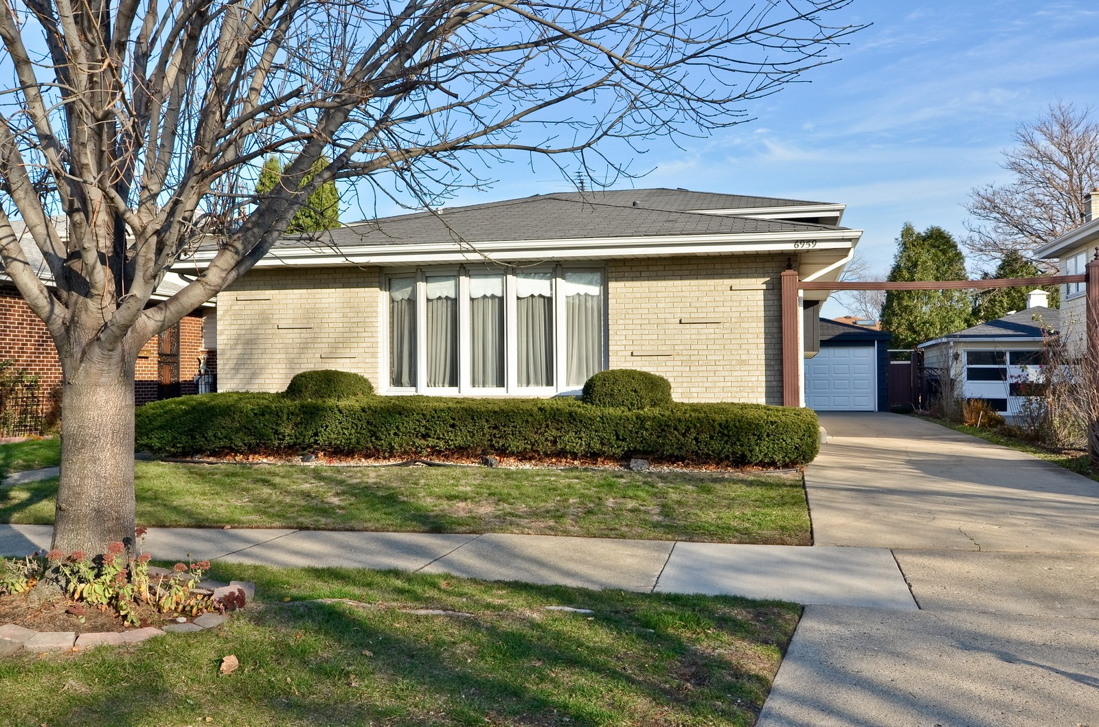 Real Estate Photography - 6959 N Dowagiac, Chicago, IL, 60646 - Front View