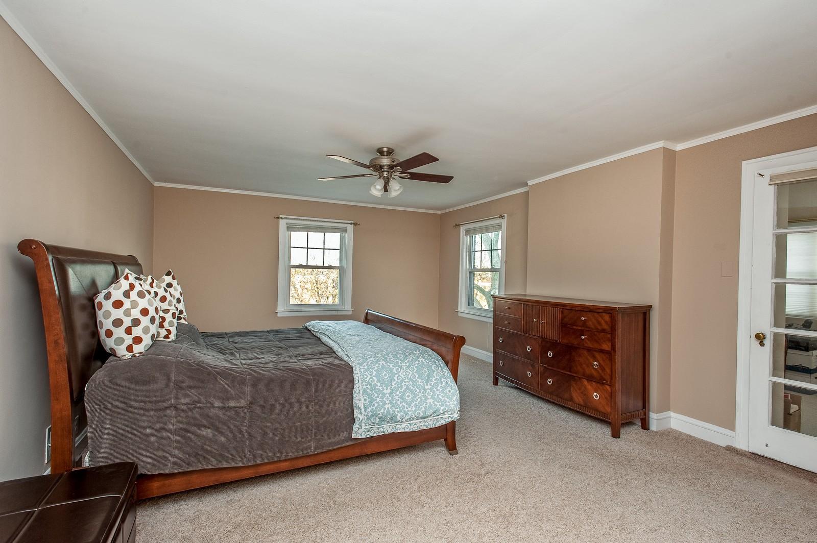 Real Estate Photography - 556 Winnetka Ave, Winnetka, IL, 60093 - Master Bedroom