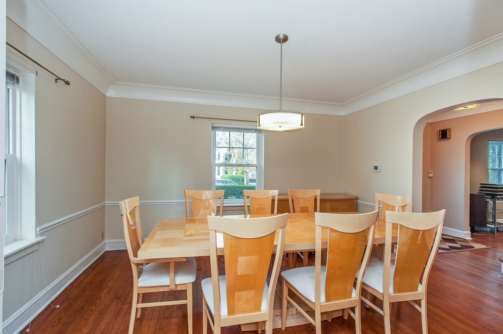 Real Estate Photography - 556 Winnetka Ave, Winnetka, IL, 60093 - Dining Room