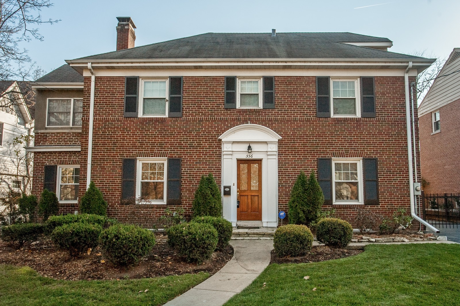 Real Estate Photography - 556 Winnetka Ave, Winnetka, IL, 60093 - Front View