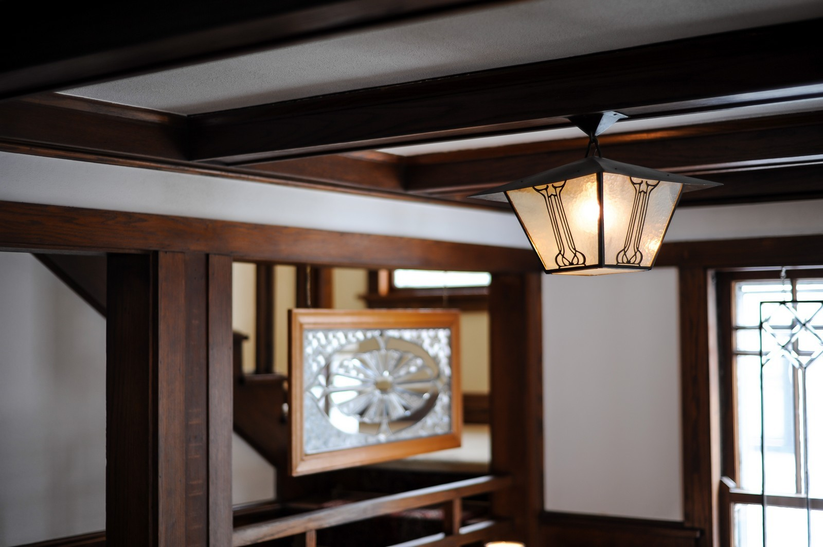 Real Estate Photography - 2700 Lincoln St, Evanston, IL, 60201 - Foyer Detail