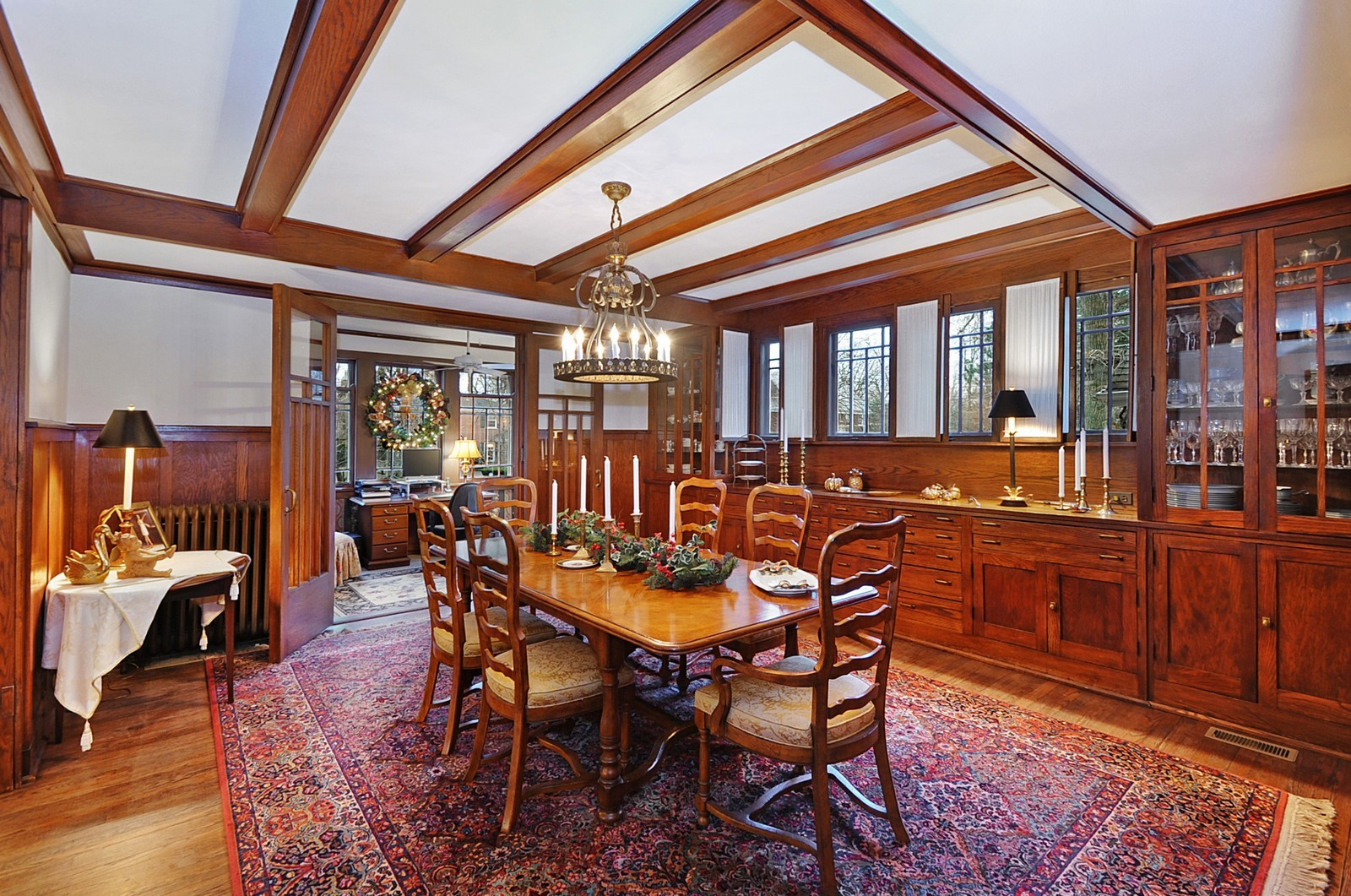 Real Estate Photography - 2700 Lincoln St, Evanston, IL, 60201 - Dining Room