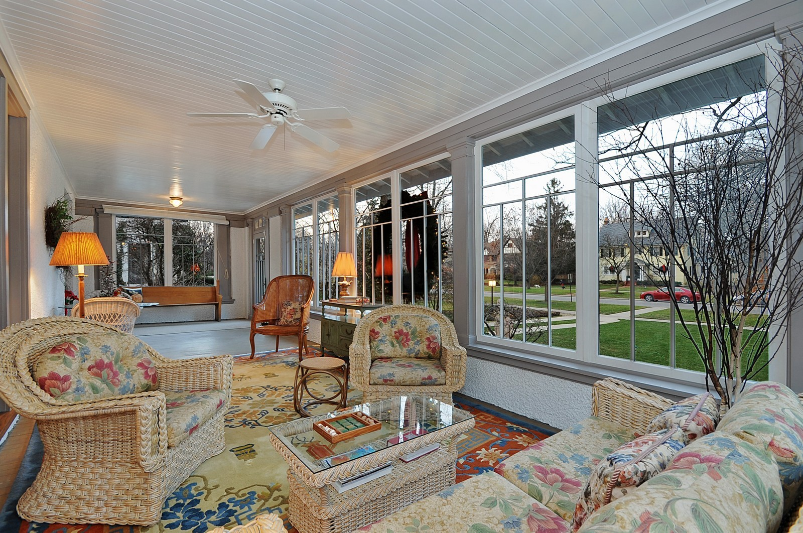 Real Estate Photography - 2700 Lincoln St, Evanston, IL, 60201 - Sun Room