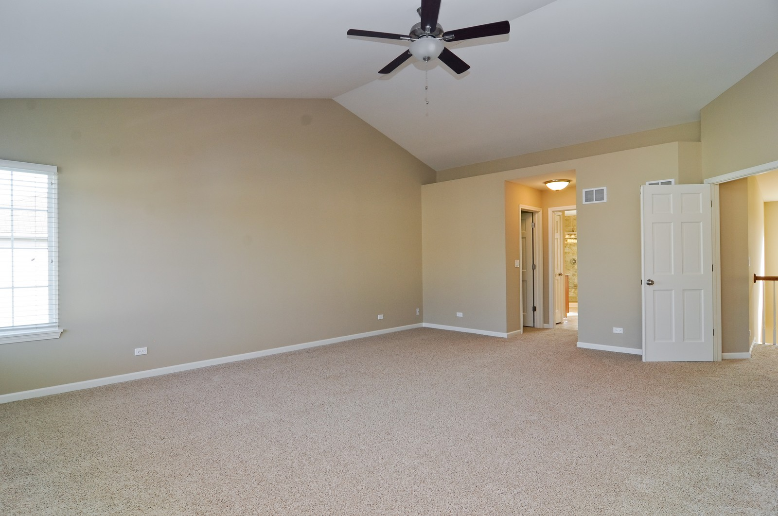 Real Estate Photography - 7394 Brentwood, Gurnee, IL, 60031 - Master Bedroom