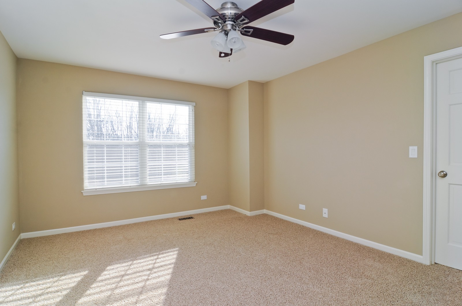 Real Estate Photography - 7394 Brentwood, Gurnee, IL, 60031 - 3rd Bedroom