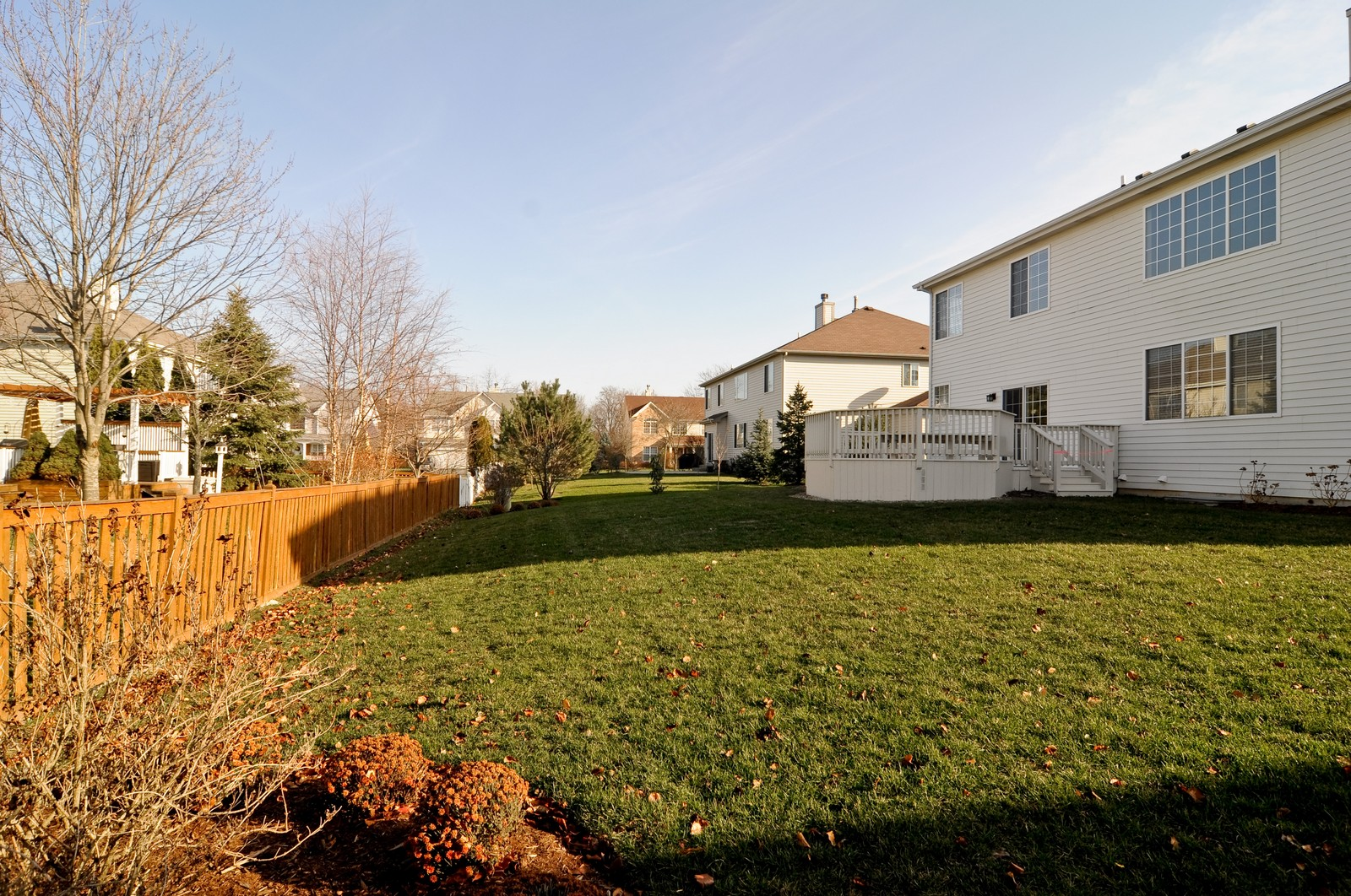 Real Estate Photography - 7394 Brentwood, Gurnee, IL, 60031 - Back Yard