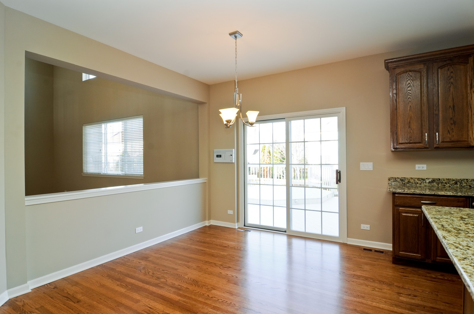 Real Estate Photography - 7394 Brentwood, Gurnee, IL, 60031 - Breakfast Nook