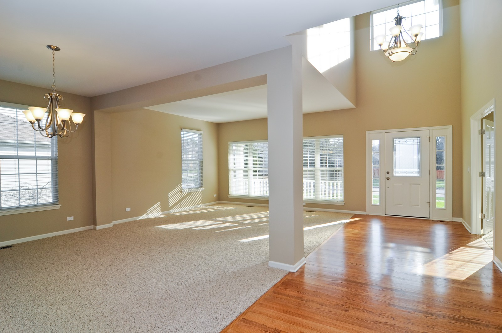 Real Estate Photography - 7394 Brentwood, Gurnee, IL, 60031 - Living Room / Dining Room