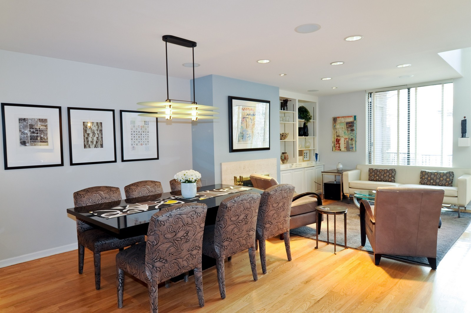 Real Estate Photography - 1352 N Sutton, Chicago, IL, 60610 - Dining Room