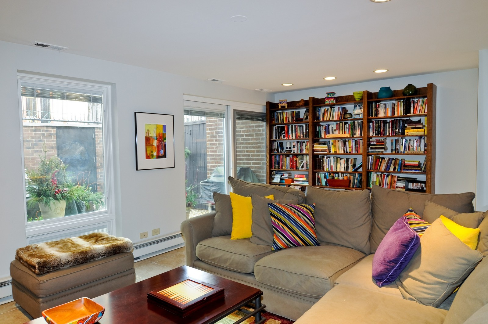 Real Estate Photography - 1352 N Sutton, Chicago, IL, 60610 - Family Room