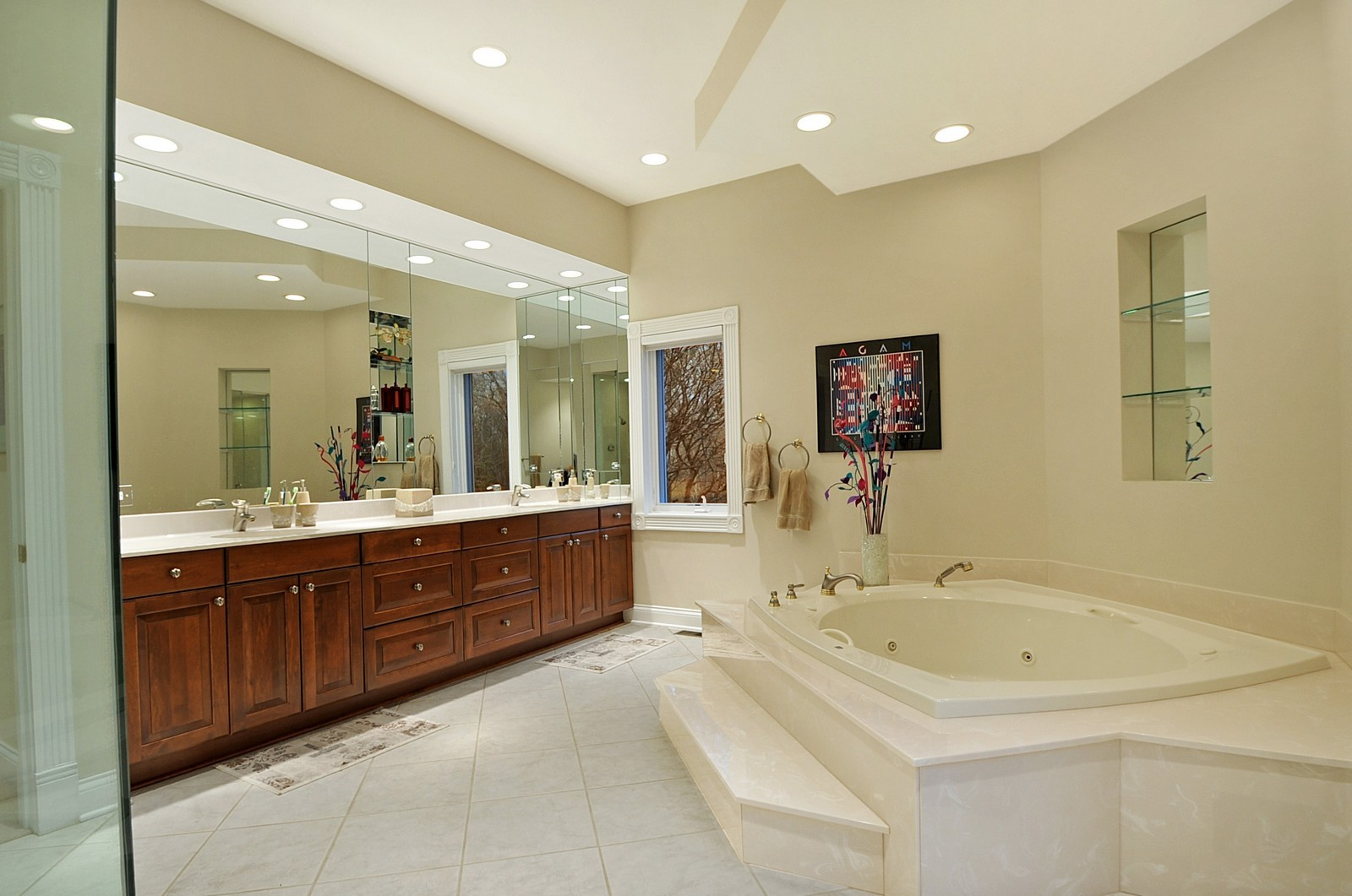Real Estate Photography - 2516 Jasper Ct, Northbrook, IL, 60062 - Master Bathroom